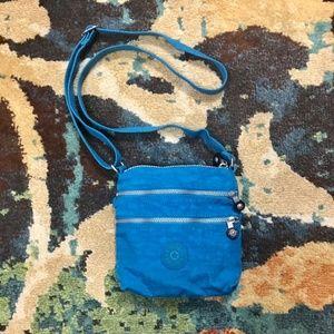 Kipling blue small crossbody purse